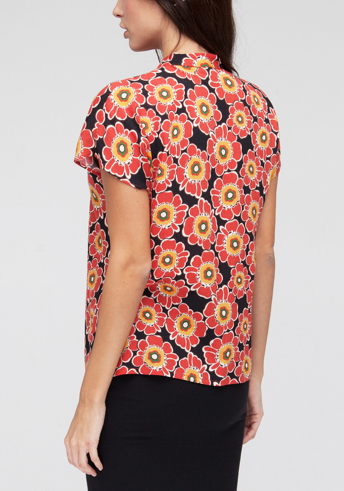 "Blouse ""Marchessi"" with floral print"