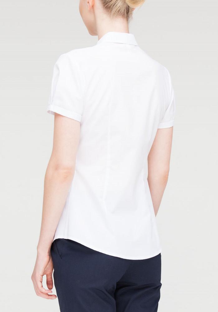 Cotton blouse white Chizana-2