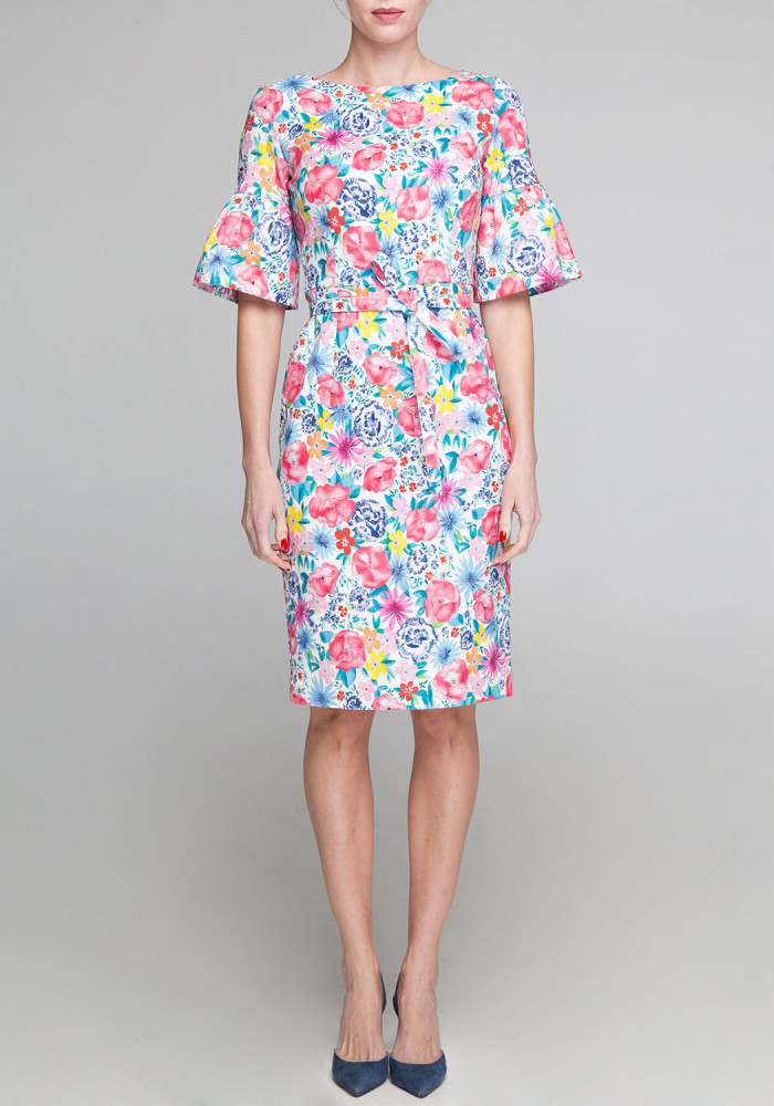 Dress  with floral print Lucy