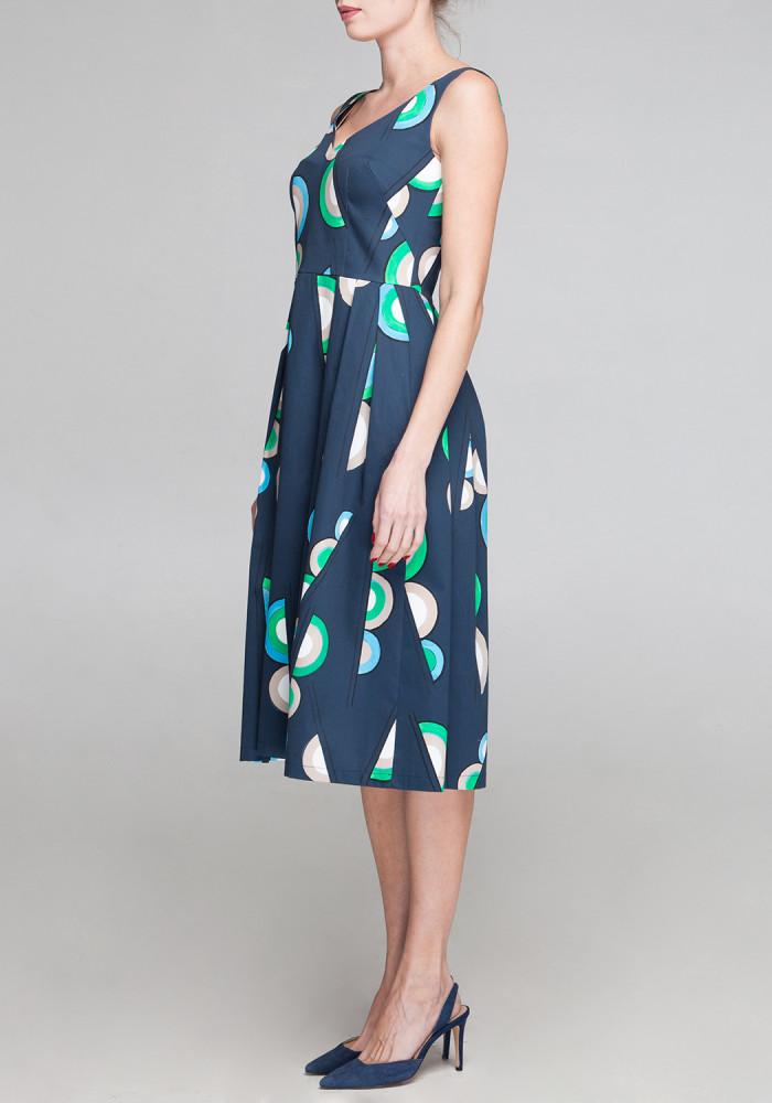 Dress with a print Odrey