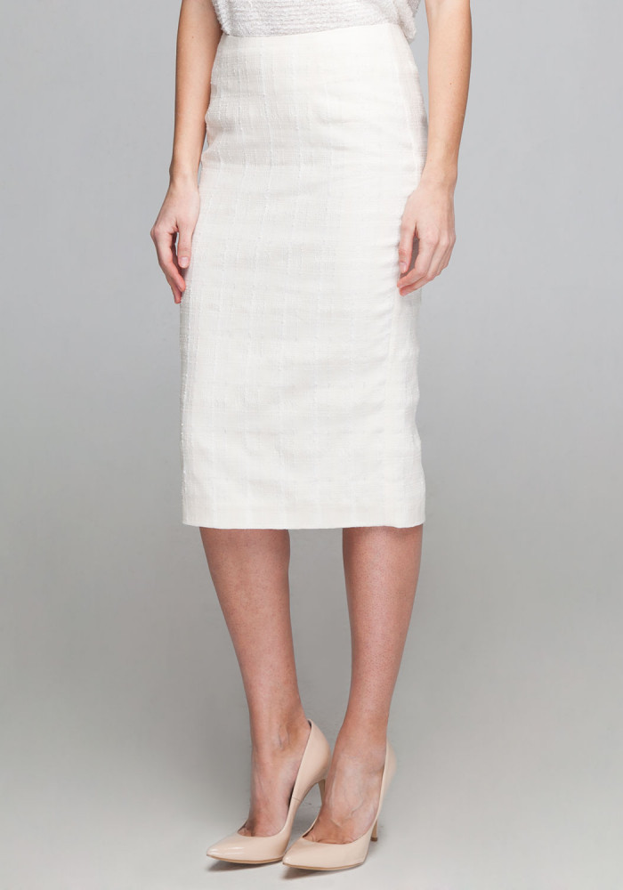 Milky pencil skirt Milly