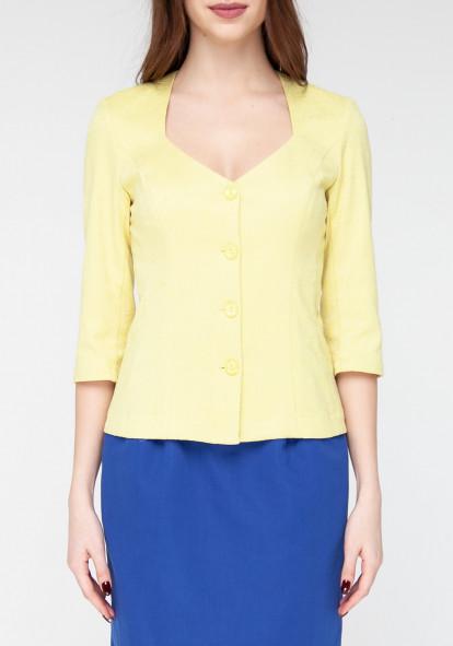 Siluette yellow jacket Limoj