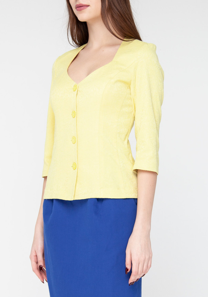Siluette yellow jacket