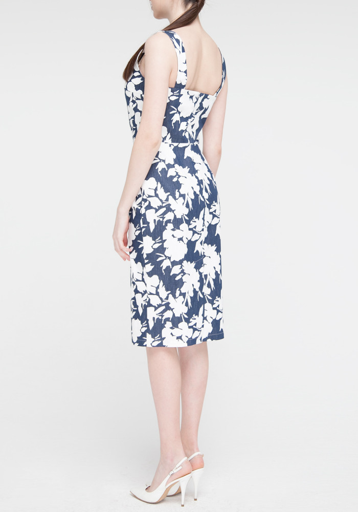 "Dress ""Adeline"" blue"