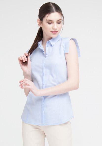 """Голубая рубашка """"Селин"""""""