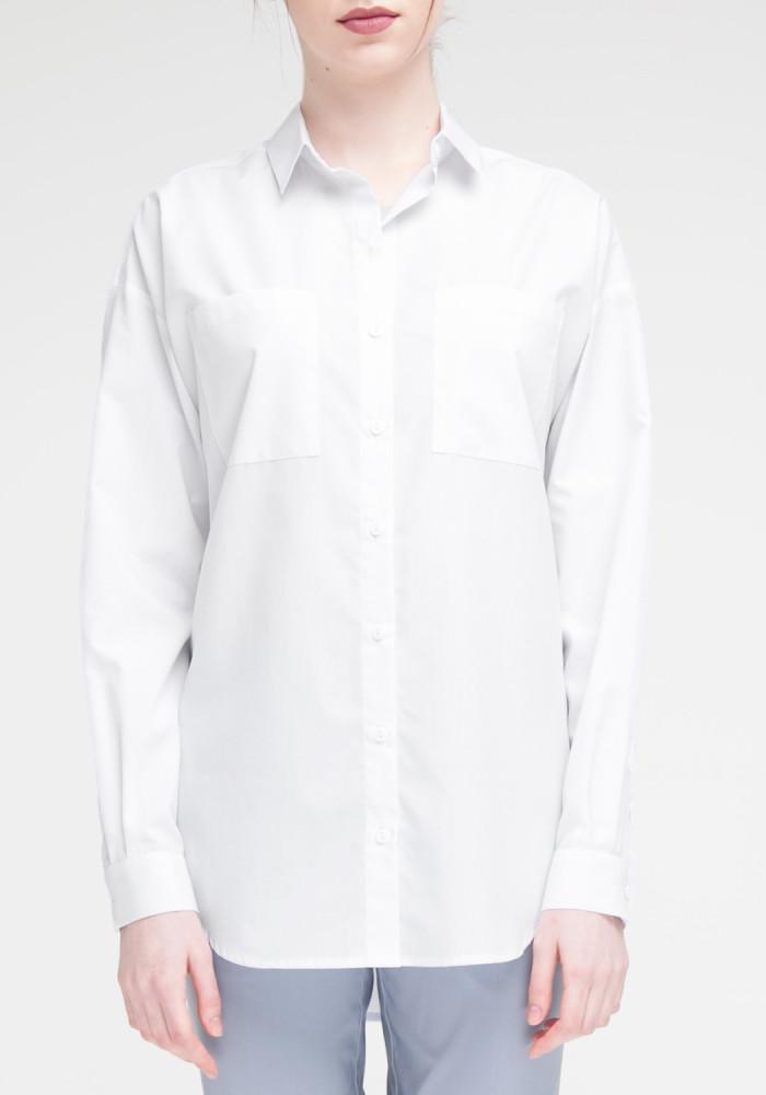"""Сорочка """"Кірбі"""" біла"""