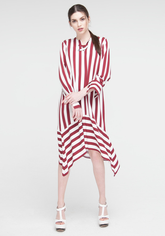 Neil striped dress