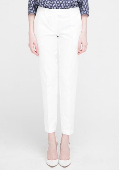 """Белые зауженные брюки """"Шарли"""""""