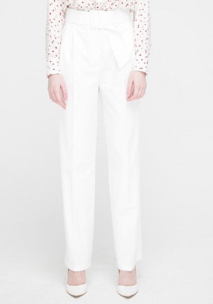 """Широкие белые брюки """"Бельведер"""""""