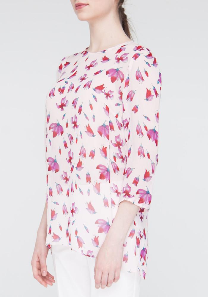 "Blouse pink ""Mimosa"""