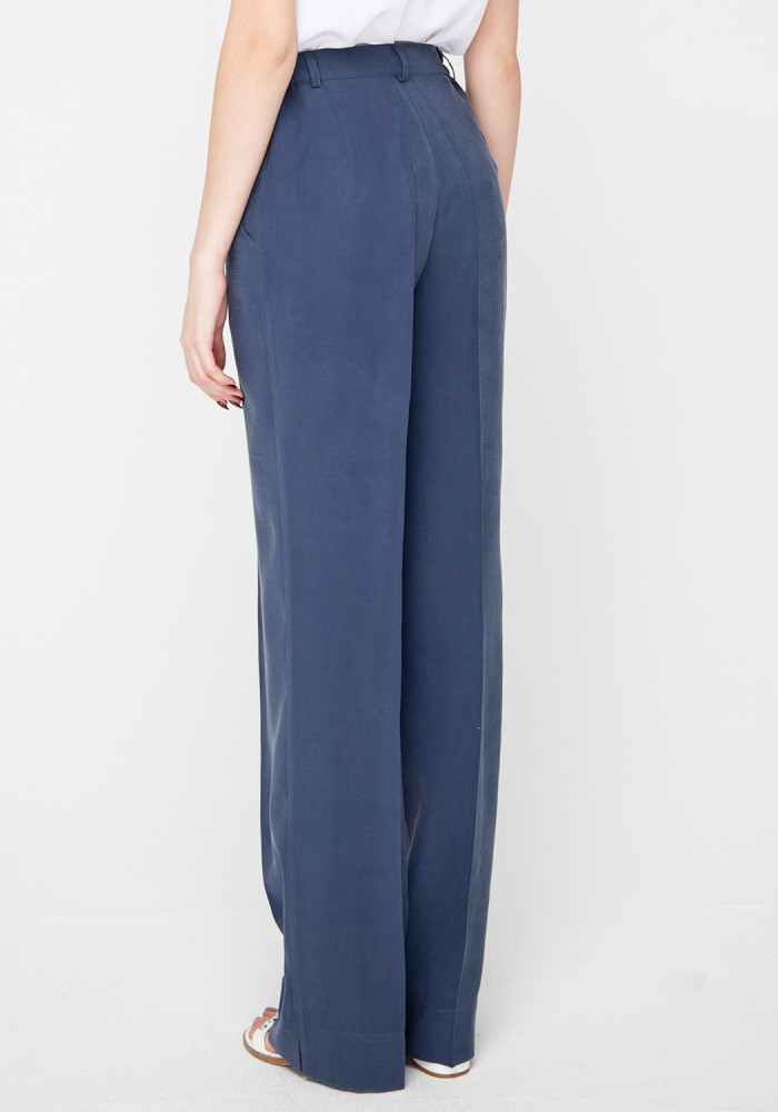 Wide trousers blue Tanzania