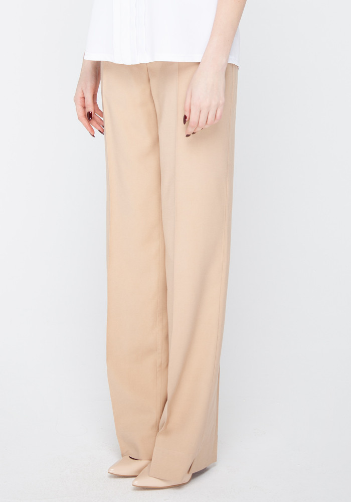 """Широкие брюки песочного цвета """"Танзания"""""""