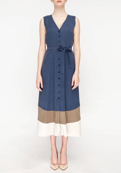 Blue Shirt Dress  Glady