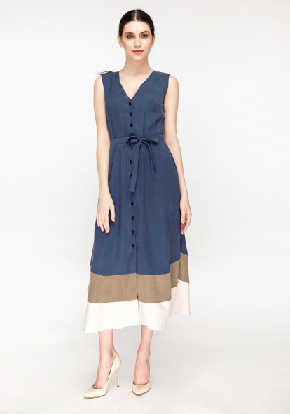 Blue Shirt Dress  Glady