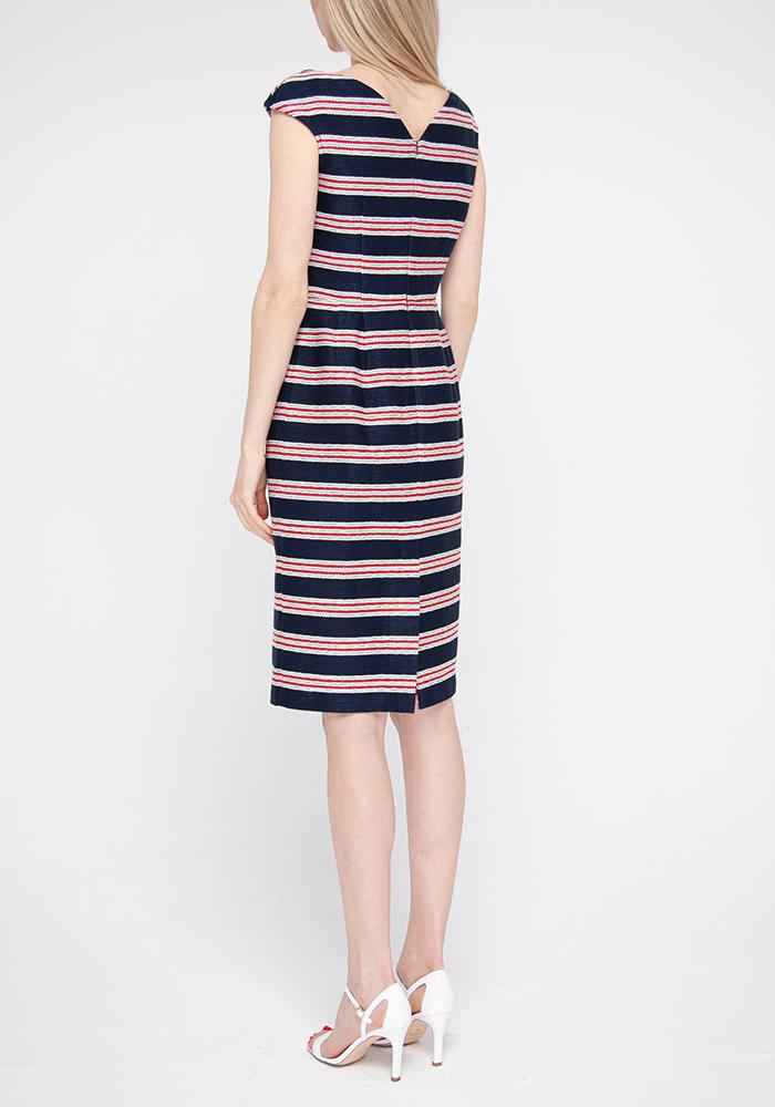 "Linen dress with stripes ""Merlin"""