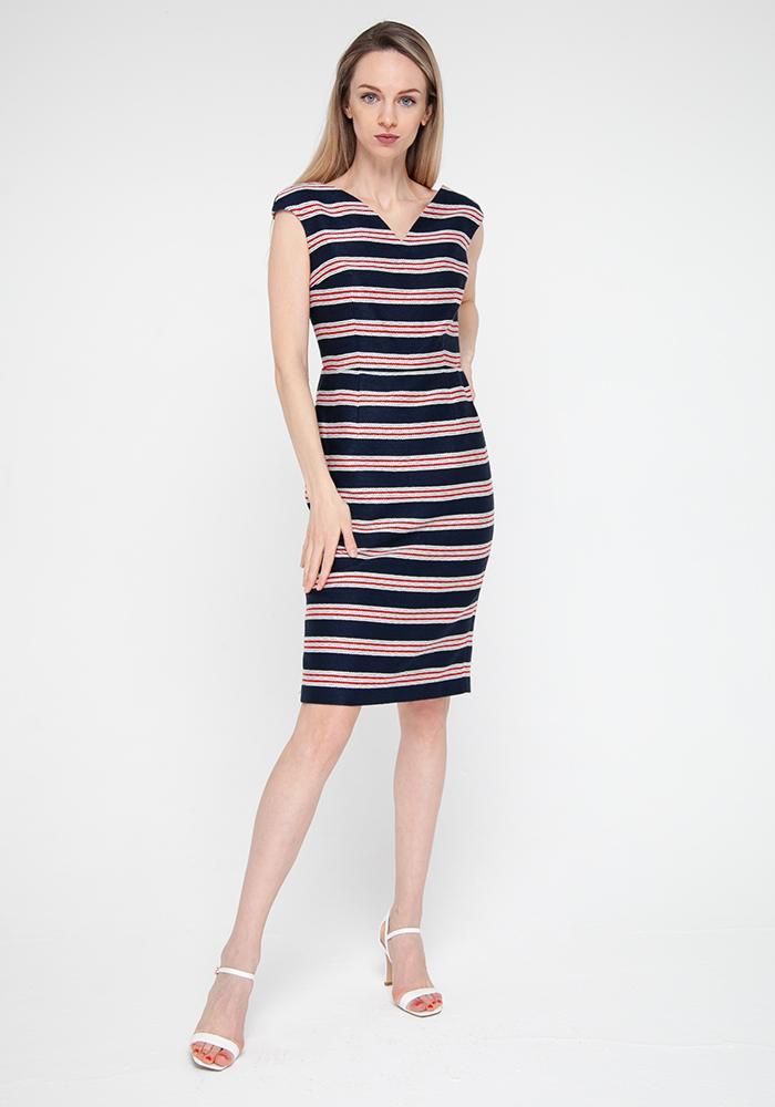 """""""Merlin"""" striped dress"""