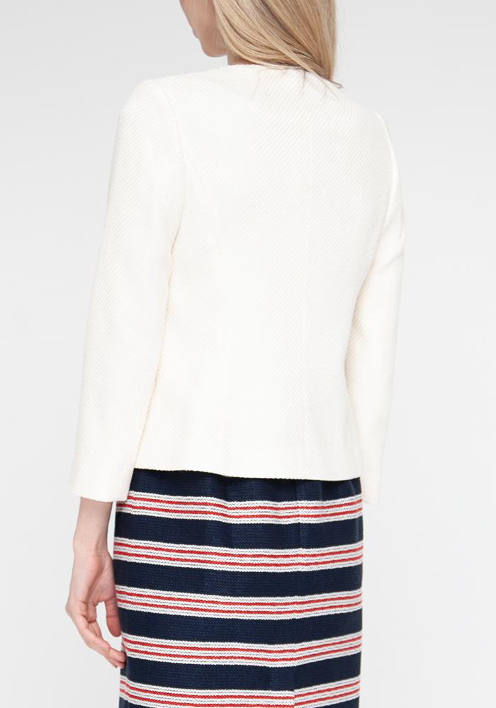 Jacket  milky color Gabrielle