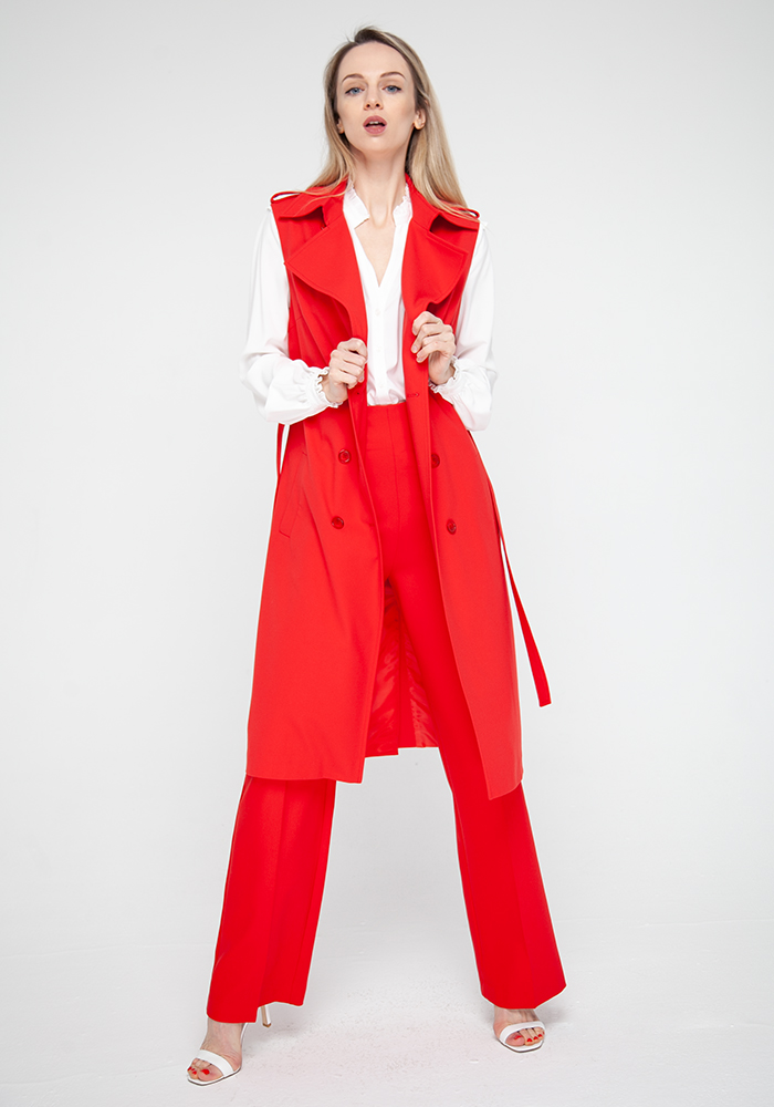 Raincoat  red Lublin