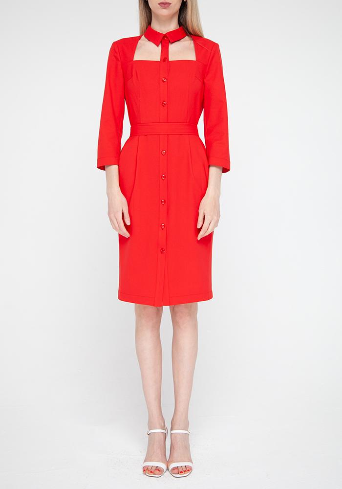 """Сукня червоного кольору """"Фламенко"""""""