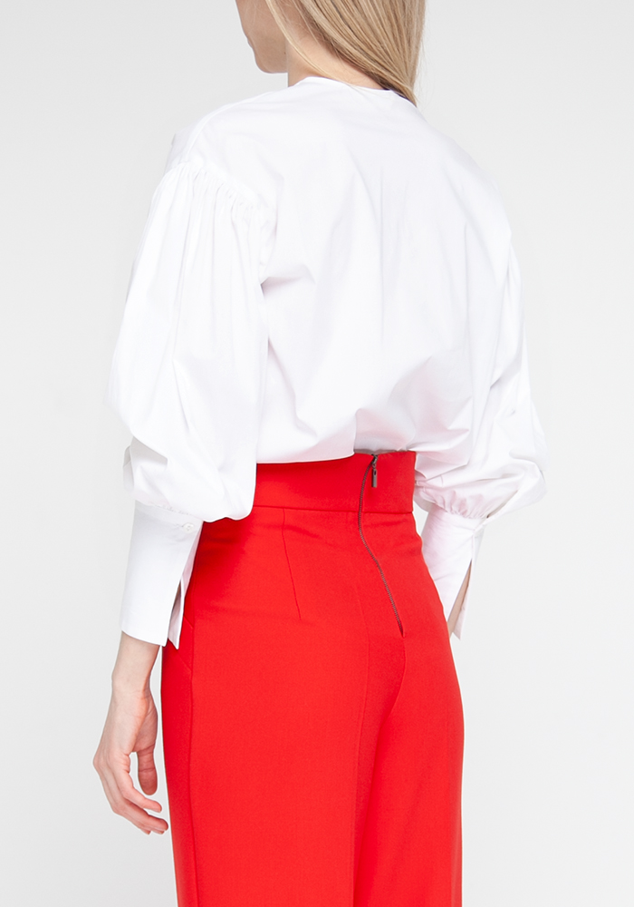 "Блуза ""Бонна21"" белого цвета"
