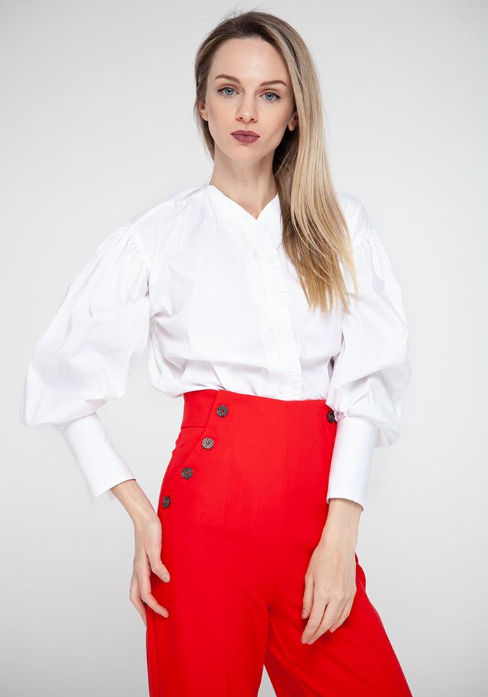 """Блуза """"Бонна21"""" білого кольору"""