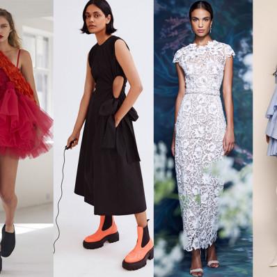 Под прицелом моды: трендовые платья 2021