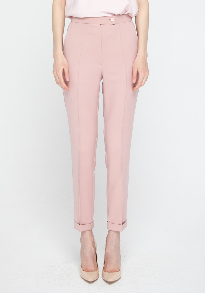 Trousers  pink powder color Bosso