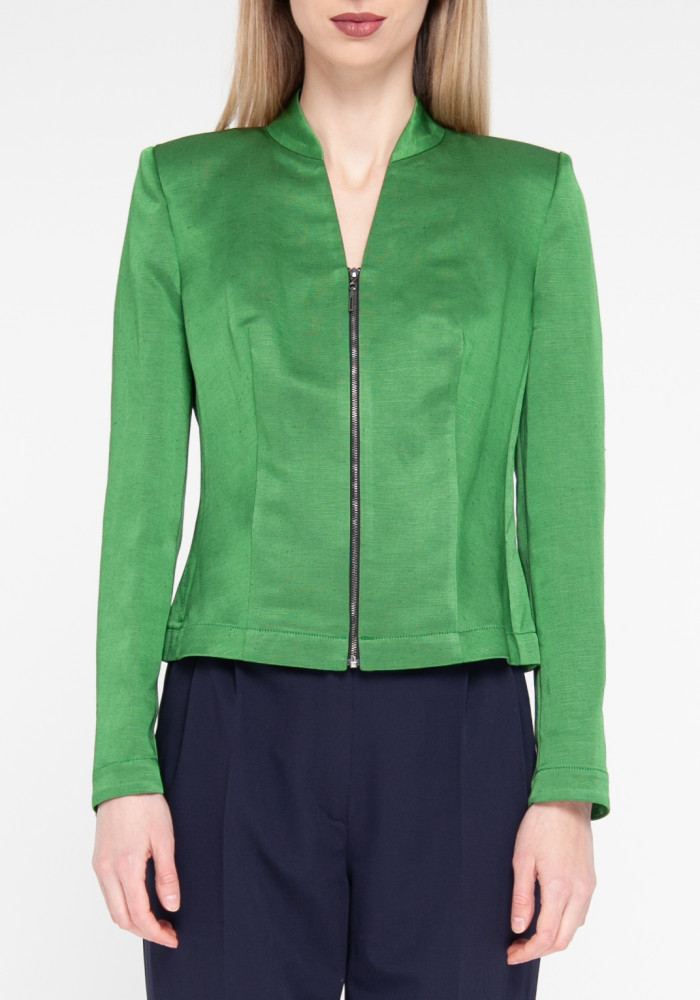 "Jacket ""Green"" green color"