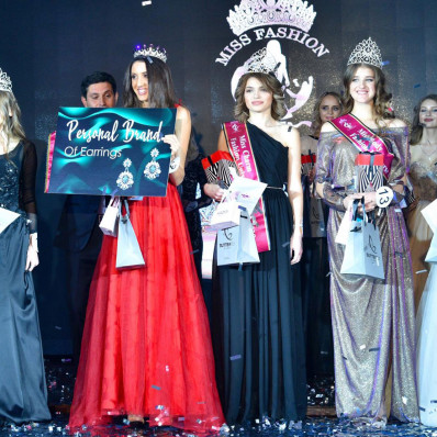 Krisstel на конкурсе красоты Miss Fashion Universe Ukraine