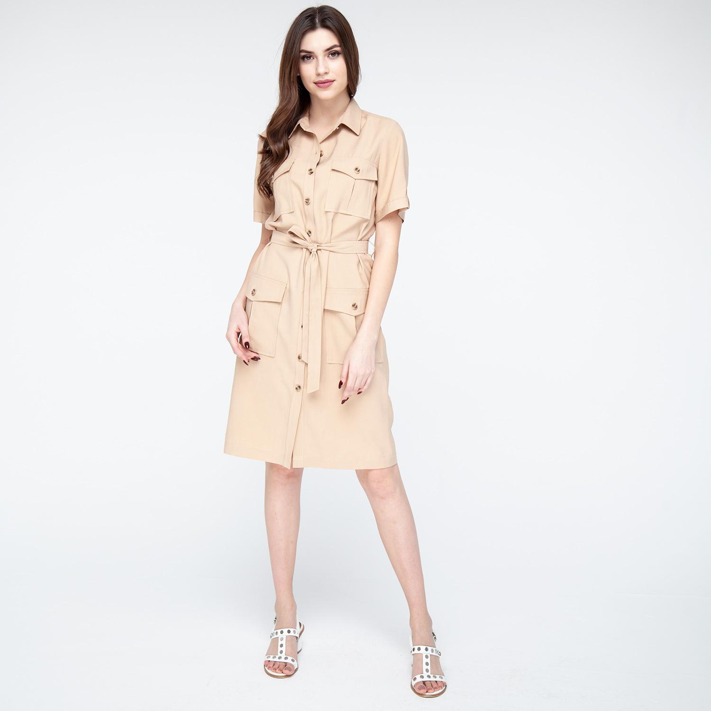 плаття сорочка довге